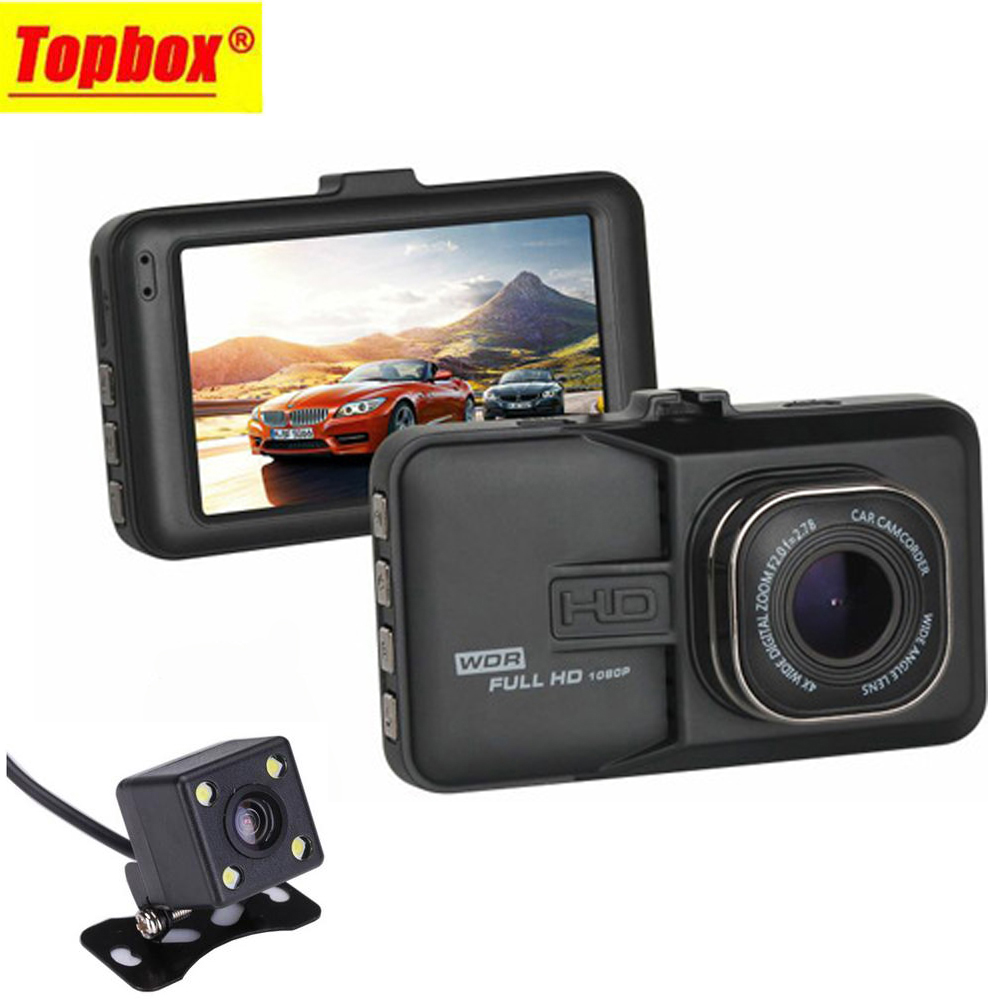 2016 New Dual Lens Car DVR font b Cam b font Dashcam 1080P Full HD Video