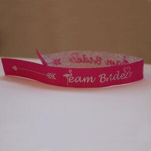 Image 4 - Bracelet pour fête avec jeune fille, Bracelet, équipe de demoiselle dhonneur, tribu de la mariée, décor pour soirée de mariage, marque didentification