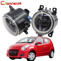 Cawaner For Suzuki Alto V GF Hatchback 2009 2015 Car 4000LM LED Lamp Fog Light Angel Eye Daytime Running Light DRL 12V 2 Pieces