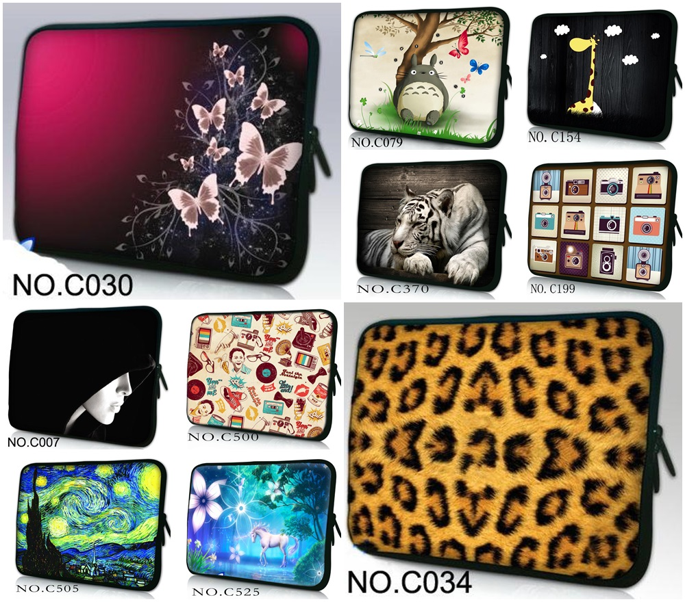 Multi- size selection minimalist laptop bag neoprene Tablet Sleeve Case For 101213141517 for Macbook HP Lenovo Women Men
