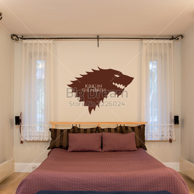 King in the North Removable Wall Sticker