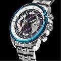 Os Recém-chegados! moda dos homens de alta qualidade da moda AAA 007 James Bond Memorial relógio mar + Frete Grátis