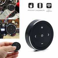 SOONHUA Portable Wireless Media Button Smart Remote Control Bluetooth Selfie Adapter Handsfree Siri Music for iPhone Android IOS