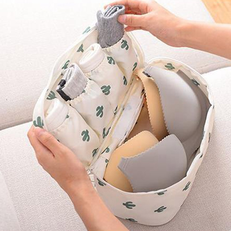 Women Waterproof Travel Storage Bag Underwear Bra Sorting Organizer Bags Organizador De Ropa(China)