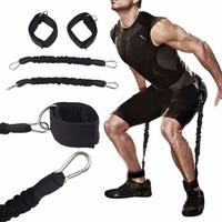 1 pc Resistance Bands Leg Trainer Strength Training Expander Stretching Belt Fitness Exercise Sport Pull Rope Crossfit Equipment