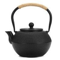 1.2L Japanese Tetsubin Style Iron Tea Pot Kettle Tetsubin Teapot + Strainer