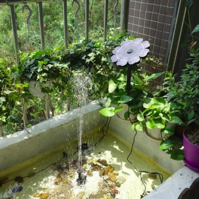 צף שמש כוח משאבת מים משאבת מזרקת שמש לגן בריכה טבולה השקיה אוטומטי בריכת מזרקות ערכת פנל