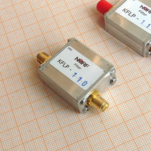 цены Free shipping KFLP-110 High power low pass filter for FM FM broadcasting transmitter. LPF, SMA 110MHz