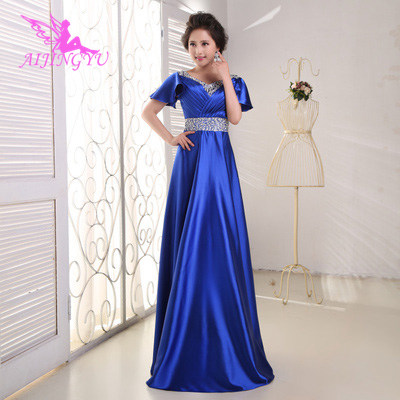 AIJINGYU Sexy Party Gown Women Long Dress Special Occasion Prom Dresses Evening Elegant Formal 2018 Fashion Ball Gowns FS548