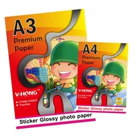 Double Sides A4 Glossy Photo Paper 140g 50 Sheets Bag For All The Inkjet Printer And