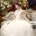 2016 Real Photo Lace Half Wedding Dress Cheap Plus Size Bridal Gown Customized Vintage Wedding Dresses vestido de noiva WD2089