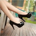 Hot Sales Full Season Daily Women Pumps 11cm High Heels Genuine Leather Classic Office Shoes Size 35-42