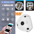 HD 1.3MP Onvif P2P HD 960P dome IP Camera 360 degree rotation wireless hd sensor Night Vision Security Camera  v380