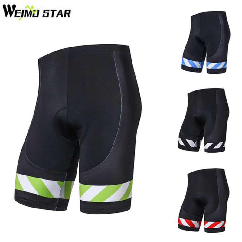 2019 New Arrival Weimostar Men Cycling Shorts 3D Gel Padded Bike Shorts Ciclismo Shockproof MTB Bicycle Bike Shorts Quick-Dry