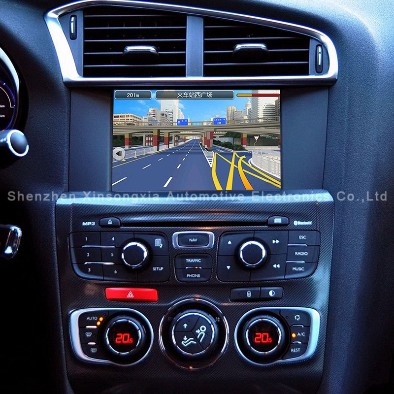 car android navigation interface box for2015 citroen c4l c5 peu geot508 2008 ds5 ds3 ds6 in. Black Bedroom Furniture Sets. Home Design Ideas