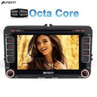 Groothandel! 7 Inch 2 Din Android 7.1 Auto Dvd-speler Voor VW/Skoda/Seat/Golf/Polo Octa-core Gps-navigatie Autoradio Stereo Wifi 3G
