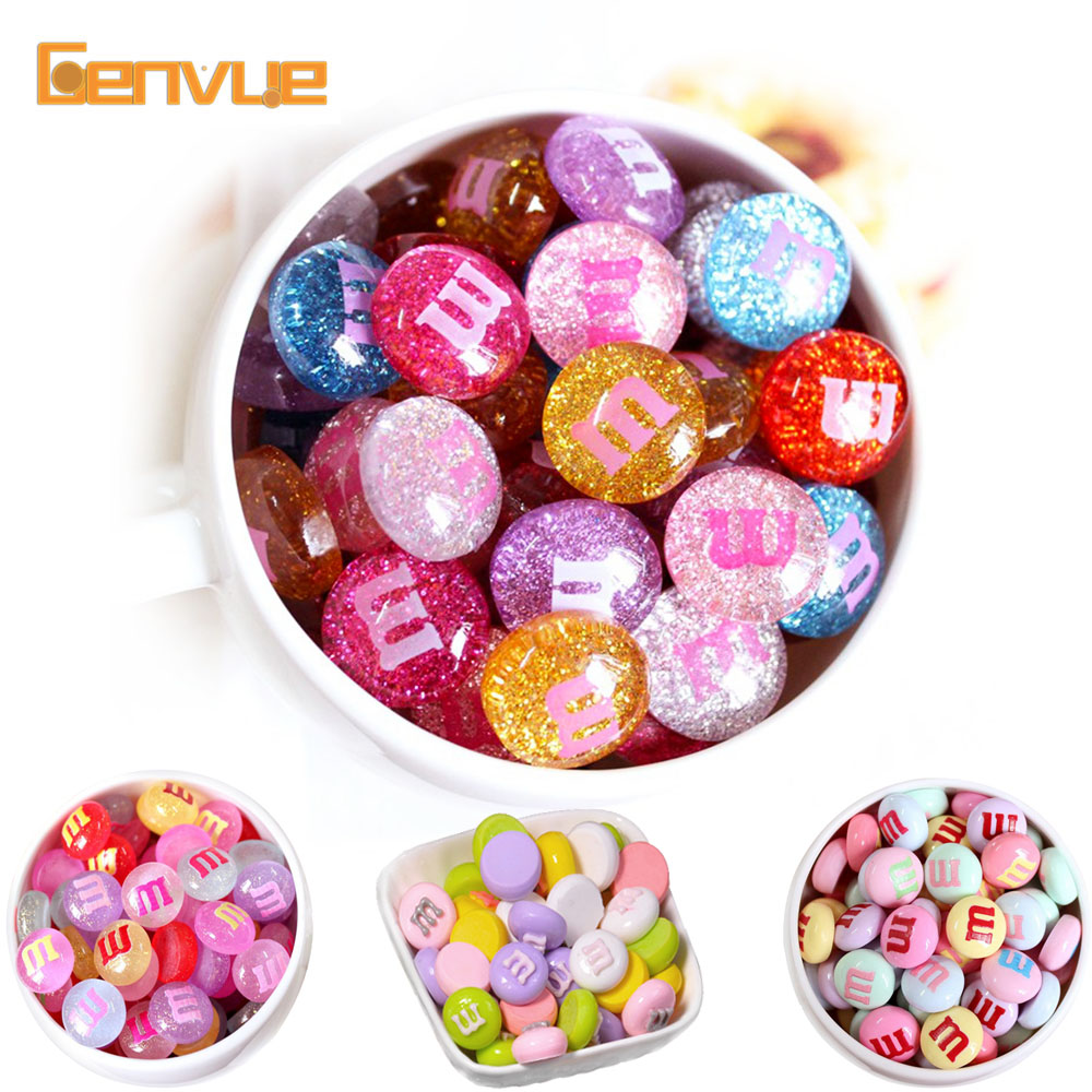 10Pcs Lizun Mini M Bean Addition Filler For Slime Fluffy DIY Polymer Clay Accessories Model Tool Slime Charms For Kids Toys