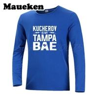 Long Sleeve Men Nikita KUCHEROV 86 IS My Tampa BAE From Russia with Love 086 Tampa Bay T Shirt T Shirt Men's W17101206