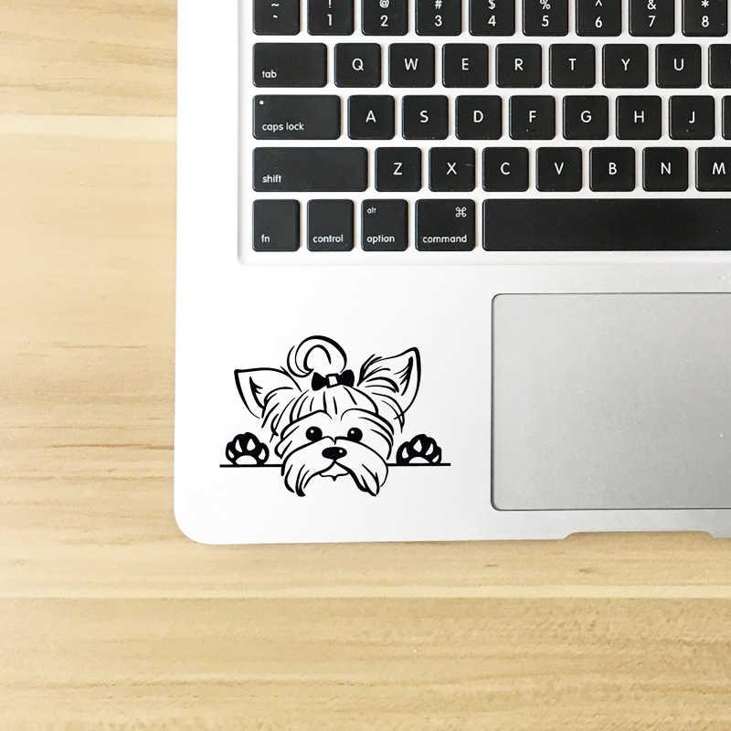 Йоркширский терьер, виниловые наклейки, Декор автомобиля, щенок, подглядевший, йоркширская собака, порода, наклейка о животных для чашки, украшения ноутбука