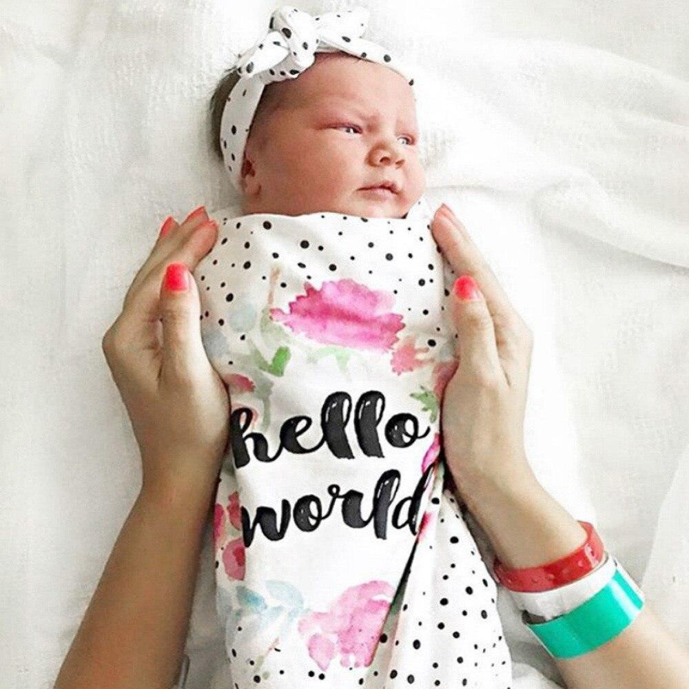 все цены на Baby Sleeping Bag Newborn Baby Blanket Swaddle Print Sleeping Bag Kids Sleep Sack Stroller Wrap Baby Swaddle Bag