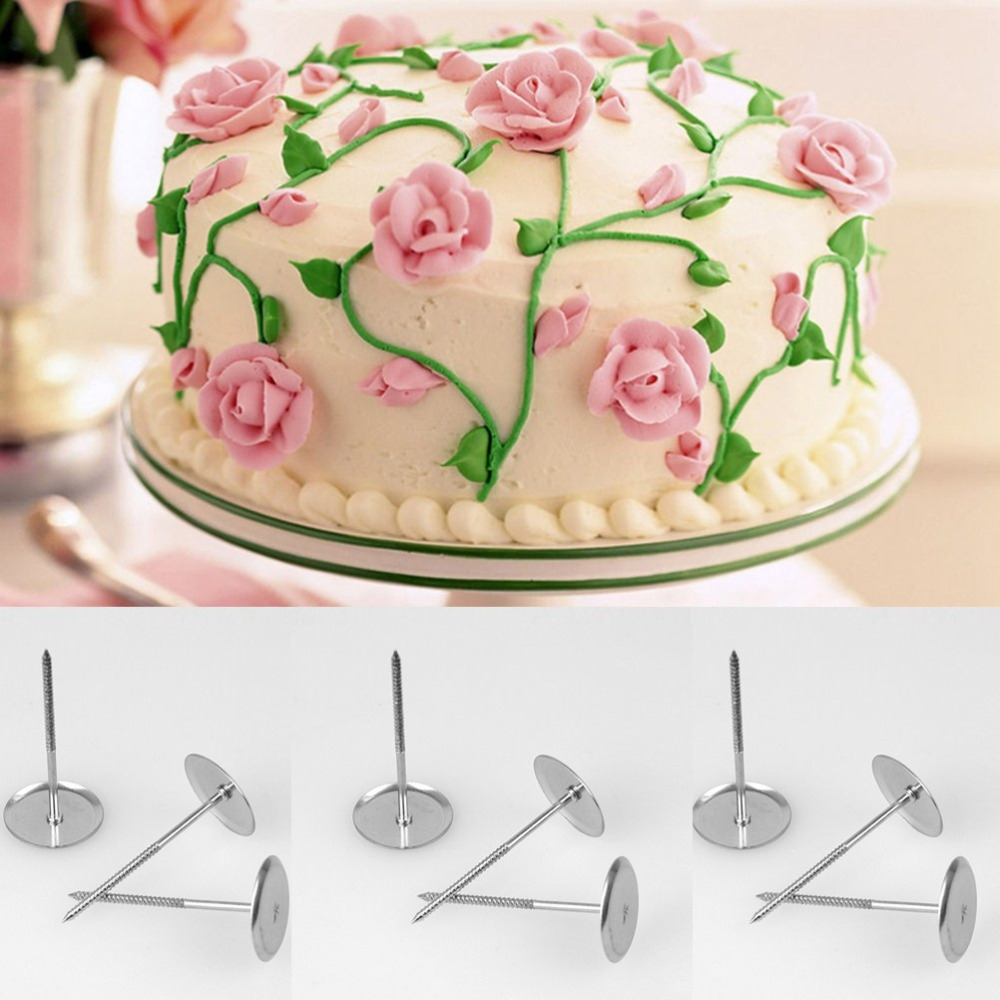 Cake Icing Cream Flower Cupcake Stand Sugarcraft Decoration Tools Nails Set