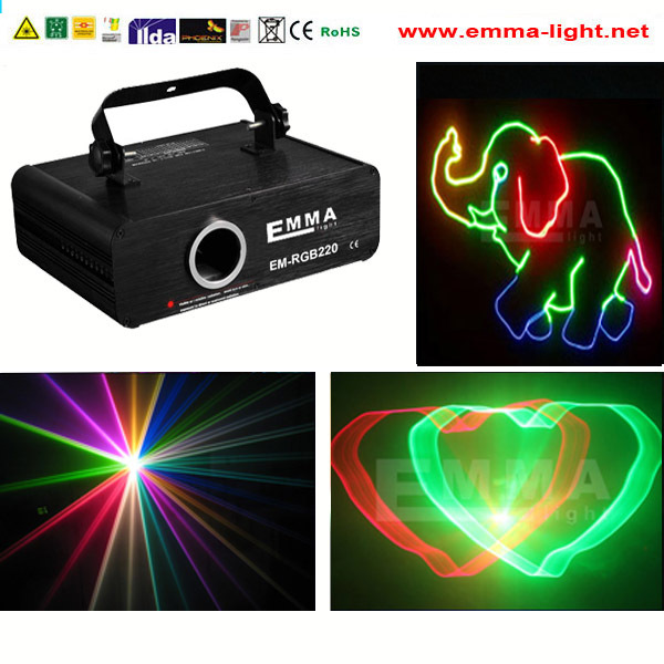 Mini Laser Stage Lamp Projector Xmas Party Disco Light Effect Laser ...