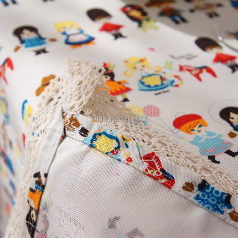 Charmant Free Shipping Cute Cartoon Kids Room Table Cover Modern Lace Tablecloth  Overlays Elegant Dining Table Cloth Designer Table Linen In Tablecloths  From Home ...
