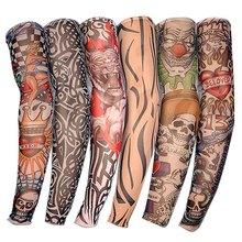 Men Women Fake tatto flash tatoo Waterproof Temporary Tattoo Sticker Body Art full arm large size sleeve tatoo Army Warrior mixed colour tattoo flash book a3 dragon warrior koi