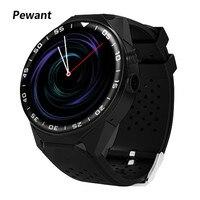 Pewant 3g WI FI gps iOS Смарт часы Android 5,1 MTK6580 4 ядра 2 ГБ Оперативная память 16 ГБ Встроенная память Smartwatch наручные часы с фитнес трекер