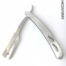 Straight Barber Edge Steel Razor Folding Shaving Knife Holder Rack Without Blade
