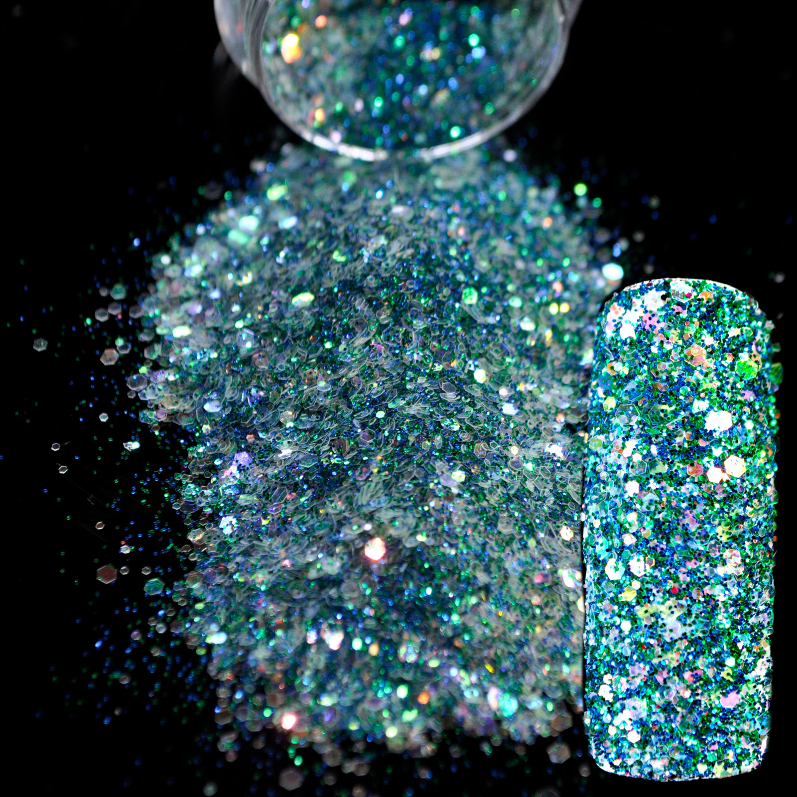 Sparkle Groen Makeup Glitter Nail Art Design Diy Glitter Mix