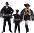 Hot  Family party Costume Righteous Warrior Cross Hero Clothing  Halloween clothes set super set cosplay Parent child clothing
