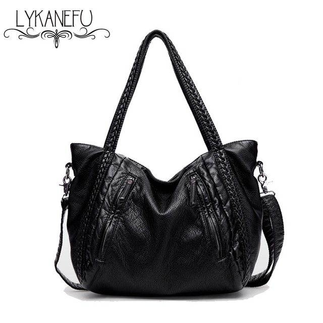 efad0f8c9b8c LYKANEFU Soft Women Bag Luxury Handbags Women Bags Designer Handbag Top  Handle Shoulder Shopping Bag Cross
