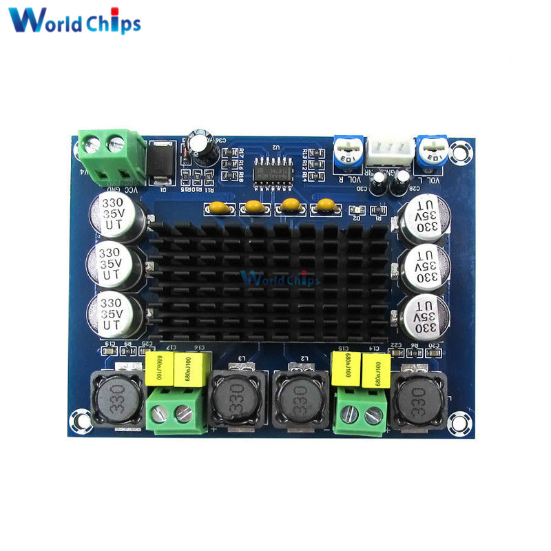 Electronic Components & Supplies Friendly Tpa3116d2 Tpa3116 Xh-m543 Dual Channel Stereo High Power Digital Audio Power Amplifier Board 120w+120w Amplificador Diy Module Distinctive For Its Traditional Properties Active Components