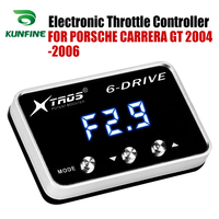 Car Electronic Throttle Controller Racing Accelerator Potent Booster For PORSCHE CARRERA GT 2004-2006  Tuning Parts