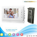 Chuangkesafe V70F-F 1V1 XSL manufacturer  Hot sale 7 inch LCD multi apartment video door phone with video intercom system