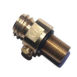 Image 5 - M18x1.5 резьба содовой поток бак производитель клапан Адаптер пополнения CO2