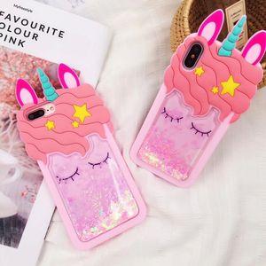 For iphone X Unicorn case 3D p