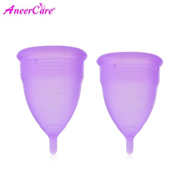 De higiene femenina dama Copa Menstrual de Coppetta Mestruale Coupe Menstruelle Luna Copa Menstrual