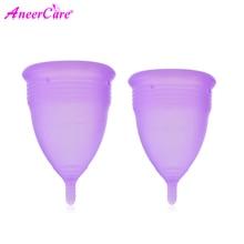 Feminine Hygiene Menstrual Cup Diva Silicone Coppetta Mestruale Coupe Menstruelle