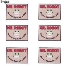 Prajna оптовая продажа, Космический патч MR для роботов, аниме, недорогие вышитые нашивки для одежды, Детские нашивки, нашивки для шитья, значок ...