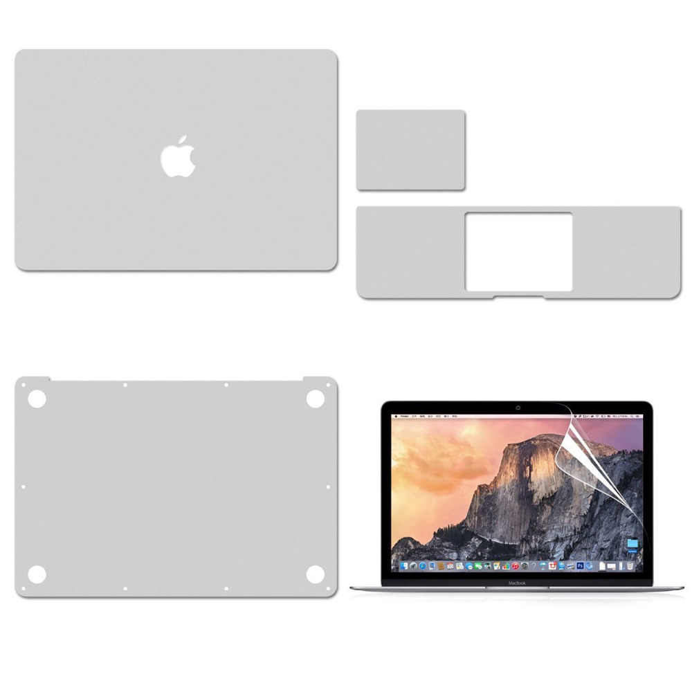 "Capa protetora do decalque do vinil para apple macbook air11 13 ""pro 15"" a2251 a2179 superior/inferior/touchpad/palmguard pele/protetor de tela"