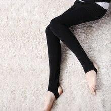 Сексуальный и теплая! Для женщин теплая дутая куртка зимняя Колготки для новорождённых модные бархатные бесшовные колготки дамы высокой эластичностью Колготки женский сплошной Цвета