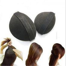 2 шт. губка для укладки волос, твист, Волшебная булочка, основа для волос, инструмент для укладки волос, объемный головной убор LB