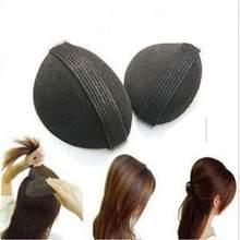 2 uds fabricante pelo esponja estilo giro magia Bun Base para cabello golpe estilo insertar herramienta volumen sombreros LB