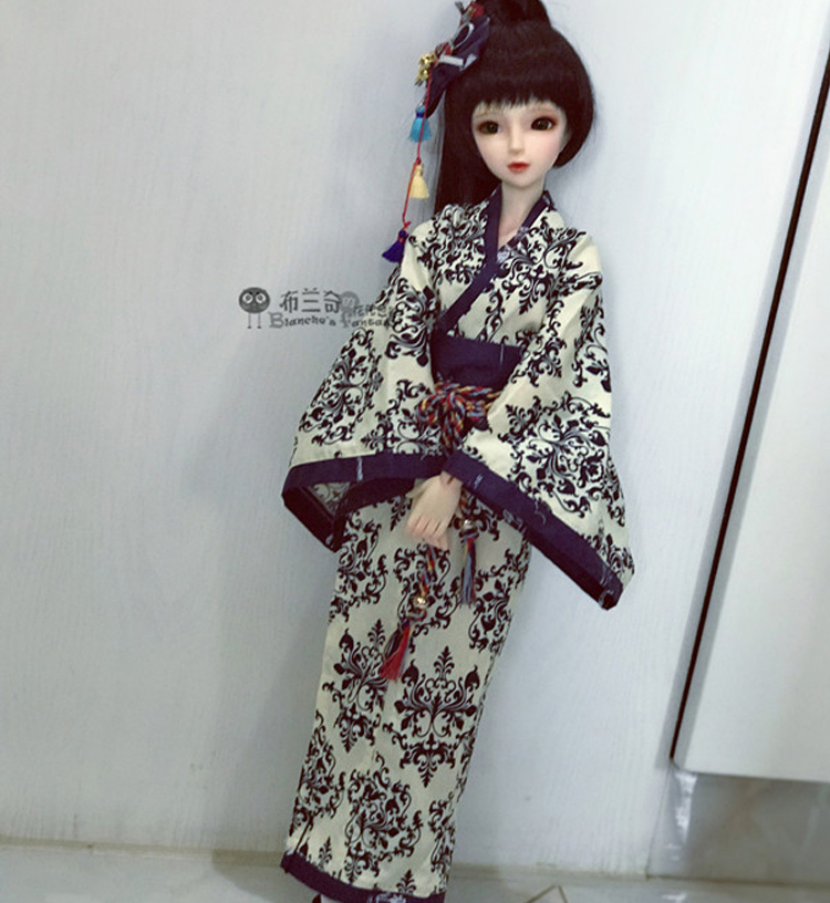 <font><b>BJD</b></font> / SD doll <font><b>clothes</b></font> / baby <font><b>clothes</b></font> lol Princess Kimono summer yukata tiara suit dress for 1/4 <font><b>1/3</b></font> 1/6 <font><b>Bjd</b></font> Doll birthday gifts image