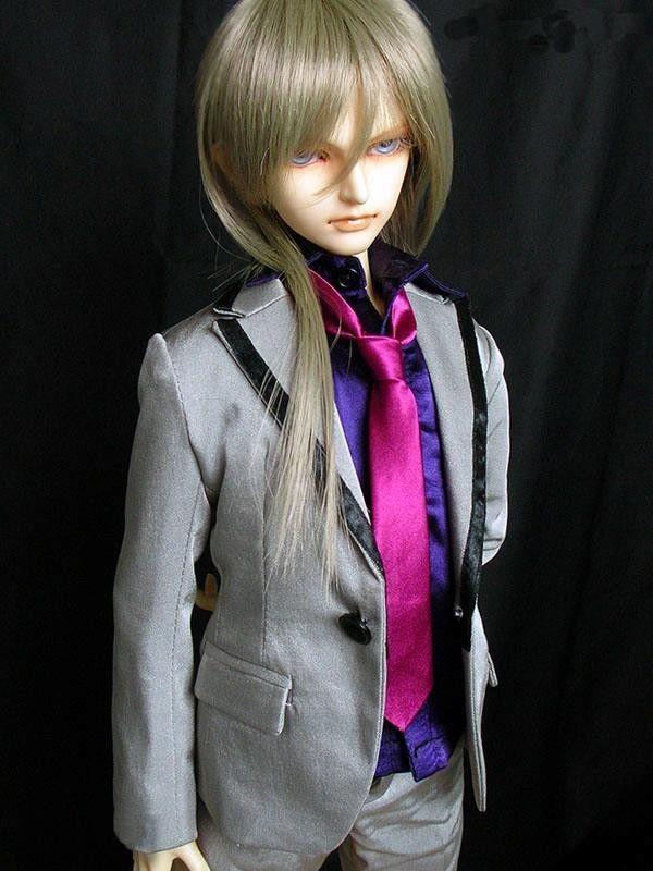 [wamami]507# Silver Suit SD17 DOD70 DZ BJD Boy Dollfie