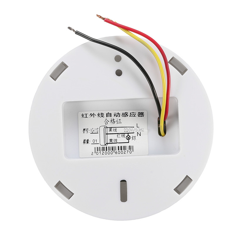 New 1PC 110x110x43mm 360 degree Infrared Ceiling Human Body Induction Switch PIR Motion Sensor Detector Sensors 110V-250V
