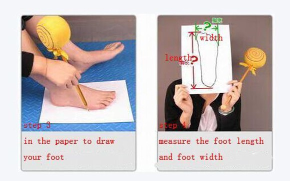 Measuring feet long 2