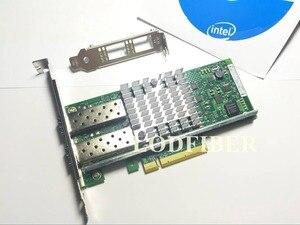 Image 4 - محول شبكة خادم إيثرنت ثنائي المنفذ Intel X520 DA2 10 جيجابت 10GBe SFP